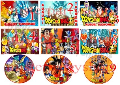 Cialda Ostia per torte Dragon Ball Super