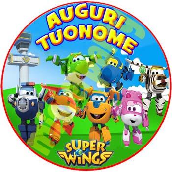 Cialda Ostia Per Torte Super Wings Tonda