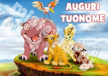 Cialda Ostia per torte The Lion Guard