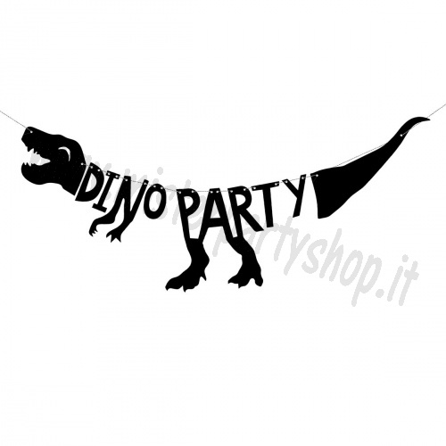 Festone Banner Dinosauro Dino Party Decorazione Party a tema