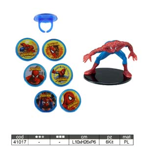 Kit Spiderman con Anellini Modecor