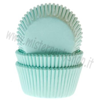 Pirottini Color Menta tipo Tiffany per Muffins House of Marie