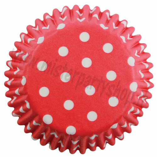 Pirottini Rosso Pois Red Polka Dots PME