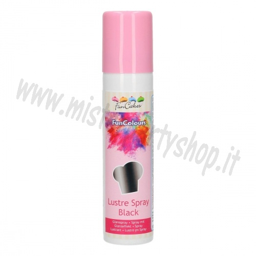 Spray Colorante Nero Funcakes 100 ml