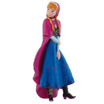 Topper Elsa Frozen Disney in plastica per torte copia