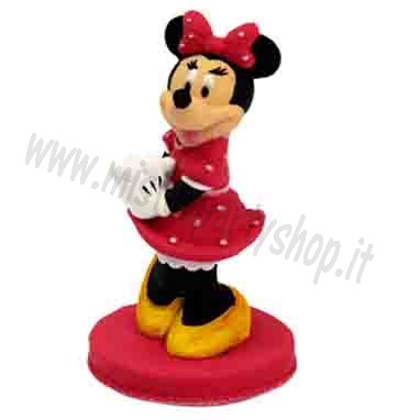 Topper Minnie 3-D in zucchero Modecor