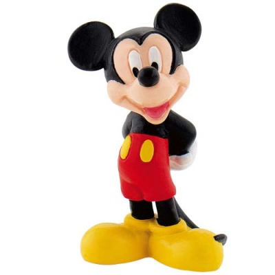 Topper Topolino Mickey Mouse Disney in plastica per torte