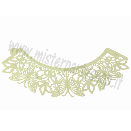 Wrappers Butterfly Ivory per Cupcake PME